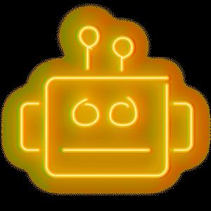 robot-neon