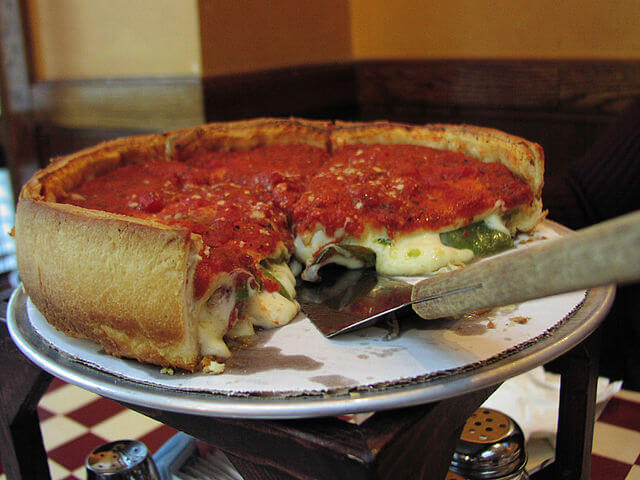 Chicago style pizza - Giordano's
