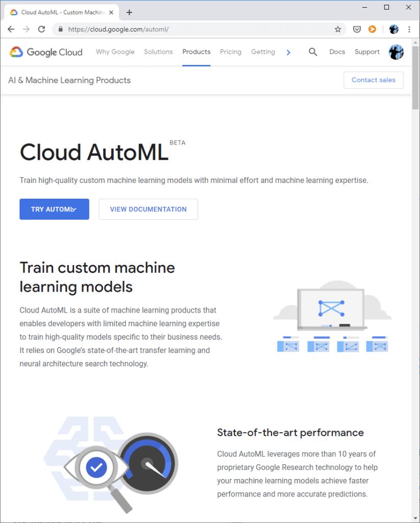 PGS Software Azul AutoML