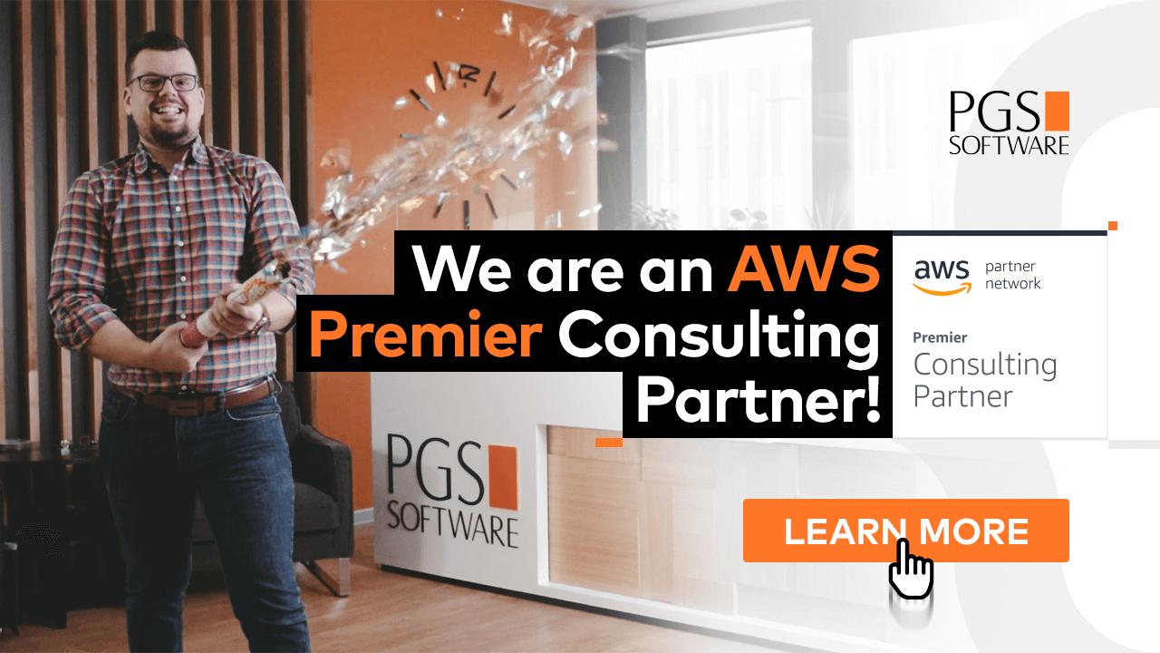 PGS Software new AWS Premier Partner